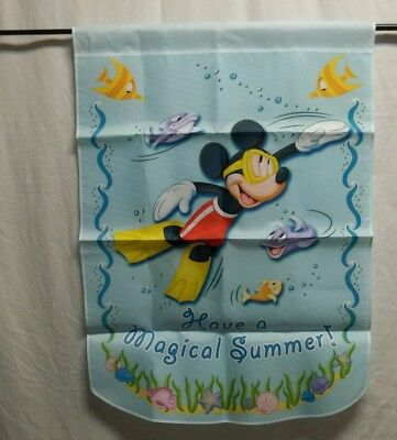 "Disney Holiday Collection Flag ""Magical Summer"" # 732b"