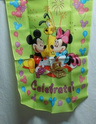 "Disney Holiday Collection Flag ""Celebrate"" # 732d"
