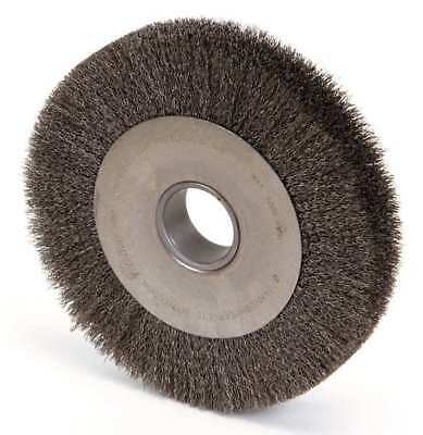 WEILER 96024 Crimped Wire Wheel Wire Brush, Arbor, 10""