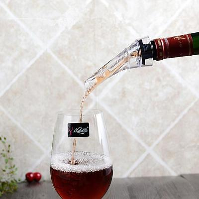 Red Wine Aerator Pour Spout Bottle Stopper Decanter Pourer Aerating Portable  AU