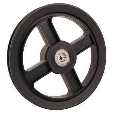 """1"""" Fixed Bore 1 Groove V-Belt Pulley 7.25"""" OD FENNER DRIVES AFD74100"""