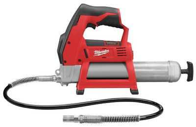 MILWAUKEE 2446-20 M12 Cordless Grease Gun12 V, Bare Tool Only