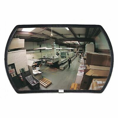 Outdoor Convex Mirror,15x24,Rectangular ZORO SELECT DRTHP-15X24