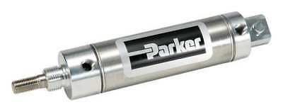 "3/4"" Bore Round Double Acting Air Cylinder 3"" Stroke PARKER 0.75DPSR03.00"
