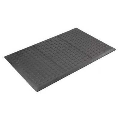 WEARWELL 502 Antifatigue Mat,Black,3ft.x5ft.