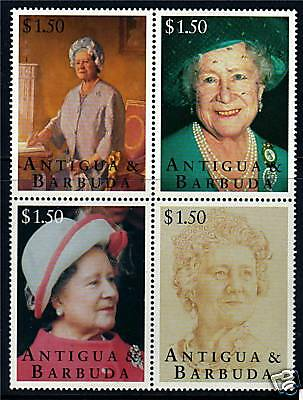 Antigua 1995 Queen Mother 95th Birthday SG2127/30 MNH