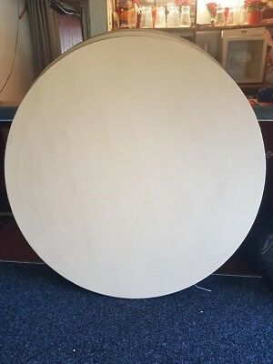 round banqueting tables used 4 x large seats 10, 7 x small seats 6