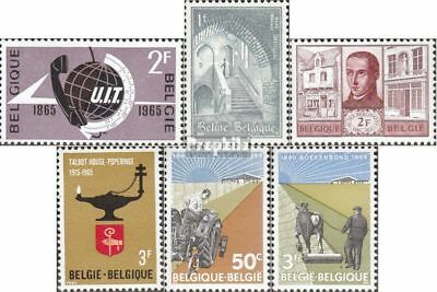 Belgium 1390,1391,1392,1393, 1397-1398 unmounted mint / never hinged 1965 ITU, A