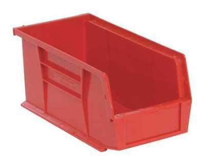 """Red Hang and Stack Bin, 10-7/8""""L x 5-1/2""""W x QUANTUM STORAGE SYSTEMS QUS230RD"""
