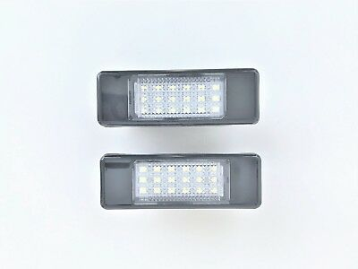 Luces de Matrícula Led Peugeot 106 1007 207 2008 308 3008 406 407 508 Luz
