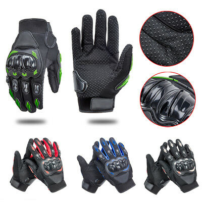 Outdoor Sports Bike Motorcycle Motocross Racing Hard Knuckle Full Finger Gloves