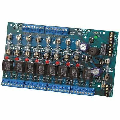 Access Power Controller 8 Fused Trigger ALTRONIX ACM8
