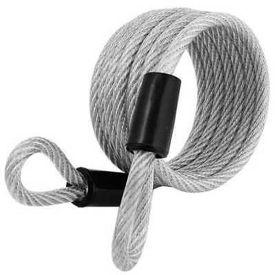 MASTER LOCK 65D Security Cable,Self Coiling,6 ft,Steel