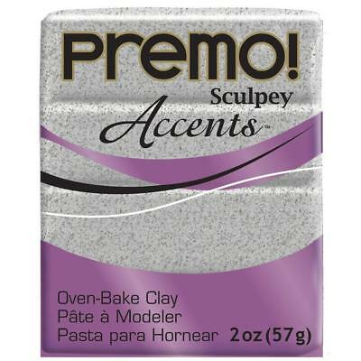 Sculpey PE02 5065 Oven Bake Clay premo! Accents-Gray Granite