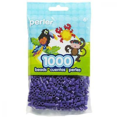Perler Beads Purple Bag