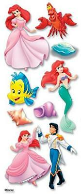 Jolees Disney Little Mermaid Dimensional Sticker