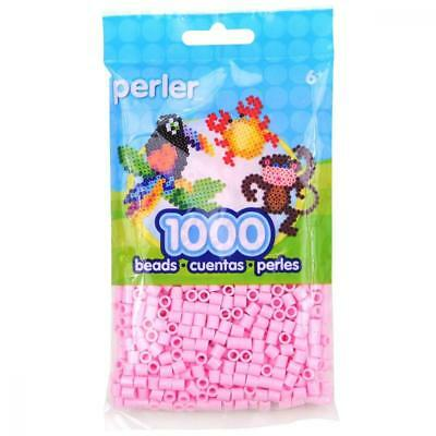 Perler Bead Bag, Light Pink