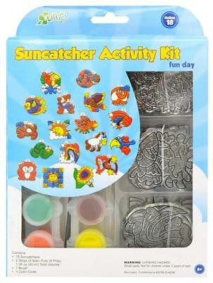 New Image Group SGP-08 Suncatcher Activity Kit, Fun Animal, 18 Pack