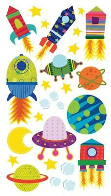 EK Success Sticko Solar System n' Rocket Ship Sticker
