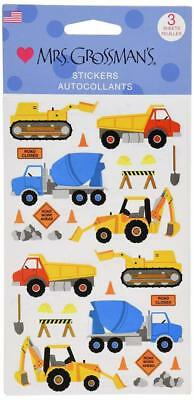Mrs. Grossman's Stickers-Construction Equipment