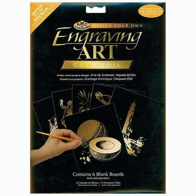 Royal Brush and Langnickel 8-Inch by 10-Inch Foil Engraving Art Blank...