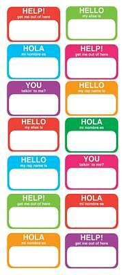 EK Success Sticko Decorative Stickers, Name Tag Labels