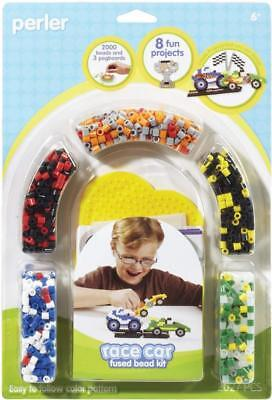 Perler 80-55981 Fused Bead Kit Race Car