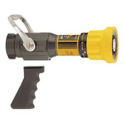 Fire Hose Nozzle,1-1/2 In.,Yellow
