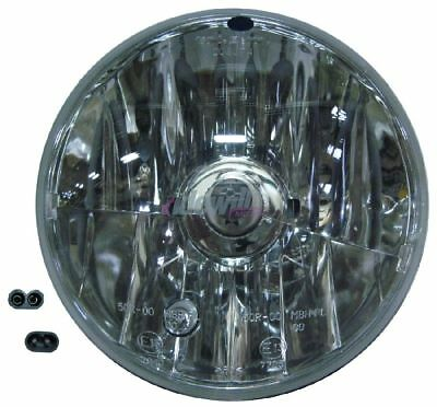 Headlight optical unit Piaggio Vespa Px 125/150/200 with wiring and lamp holder