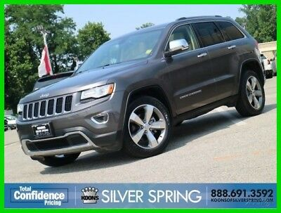 Jeep Grand Cherokee Limited 2015 Limited Used 3.6L V6 24V Automatic 4WD SUV Premium Moonroof