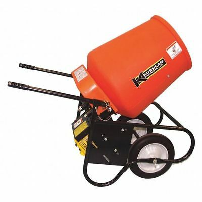 Wheelbarrow Mixer,3.5 cu ft,Gas,2HP KUSHLAN PRODUCTS 350GAS