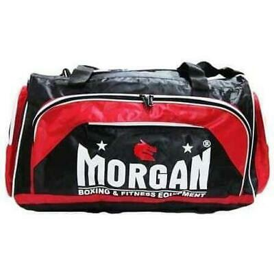 Morgan Platinum Personal Boxing MMA Gym Equipment Gear Bag [Red or Pink]