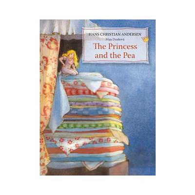 The Princess and the Pea by Hans Christian Andersen, Maja Dusíková (illustrator)