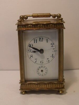 French 8 Day Carriage Clock (For Restoration)