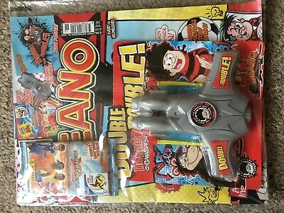 Beano Comic Magazine With Free Toy On Front Unused Original Double Trouble