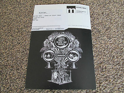 Oasis - Lord Don't Slow Me Down - Promo Large Postcard (2007)