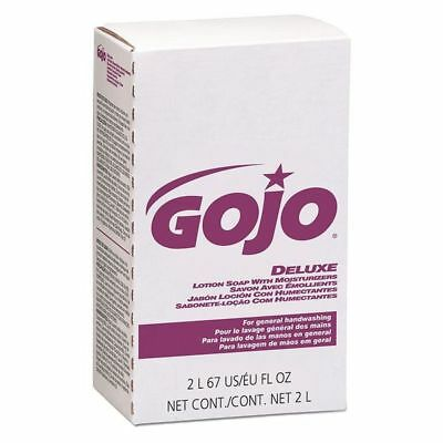 GOJO 2217-04 Deluxe Lotion Soap with Moisturizers, 2000mL NXT Refill, PK4