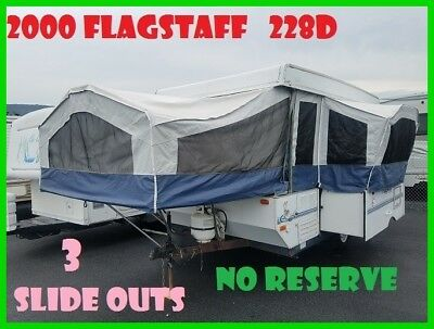 2000 FOREST RIVER, INV Flagstaff 228D Used