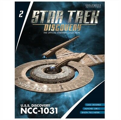 Star Trek Eaglemoss Magazine Only. Uss Discovery