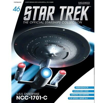 Star Trek Eaglemoss Magazine Only. Uss Enterprise Ncc-1701-C