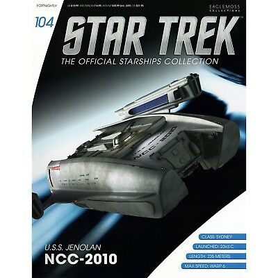 Star Trek Eaglemoss Magazine Only. Uss Jenolan