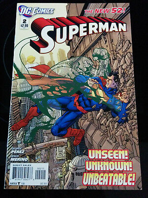 SUPERMAN - The New 52 - Unseen, Unknown, Unstoppable  DC Comics 2011