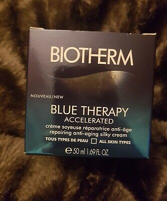 BIOTHERM BLUE THERAPY ACCELERATED Crème réparatrice anti-âge 50 ml NEUF