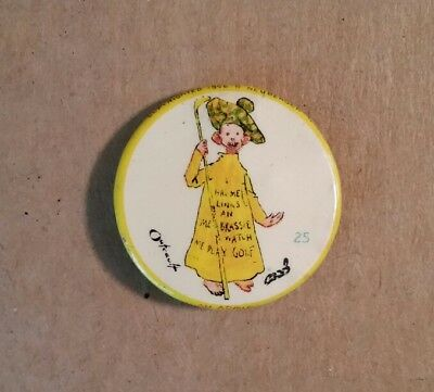 Yellow Kid #25 High Admiral Cigarettes Pinback,1896