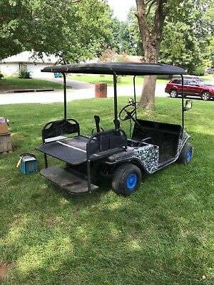 Golf Cart project - lots of upgrades - needs batteries-extra parts Local Pickup!