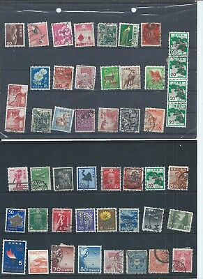 Japan stamps   Small used lot.. (C452)