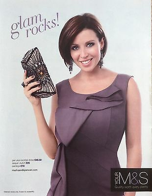 DANNII MINOGUE UK M&S Full Page Advertisment Clipping Pic *Kylie Cutting