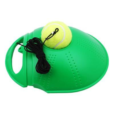Tennis Ball Self-study Singles Training Practice Balls Back Base Trainer Tool W