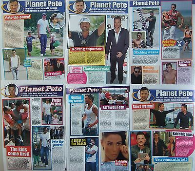 PETER ANDRE 7 Pages of UK 'Planet Pete' Magazine Clippings' *Mysterious Girl