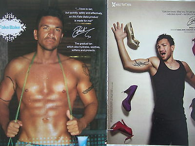 PETER ANDRE UK Magazine Ad's / Clippings *Mysterious Girl Strictly